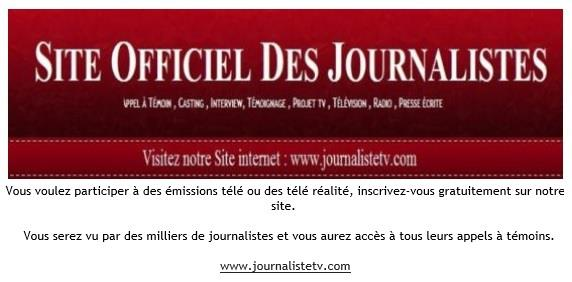 Site Officiel Des Journalistes